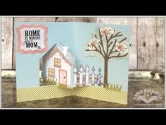 Designer Challenge April 2014 - House Pivot Card - YouTube