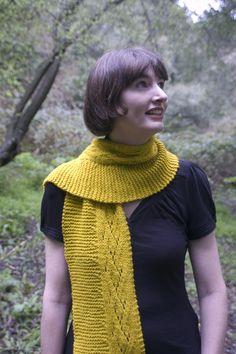 Laetiporus by Kristen Hanley Cardozo, knit in Malabrigo Merino Worsted