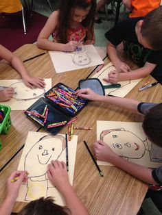 All about me art and writing activity