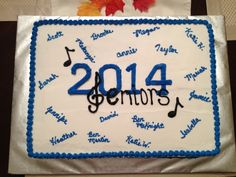 Good luck Senior Band Students