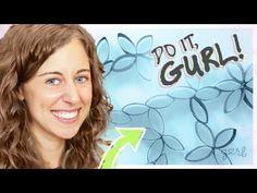 ▶ Paper Roll Wall Art - Do It, Gurl - YouTube