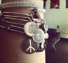 alex and ani bracelets- my new obsession