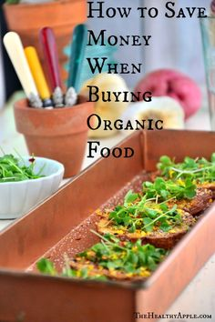 How to Save Money When Buying Organic Food | TheHealthyApple.com #organicfood #organic #cleaneating #health #healthy