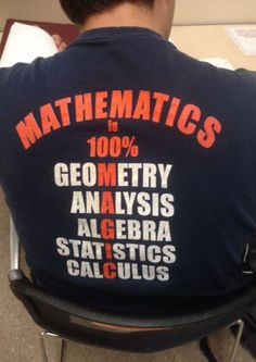What math is all about…