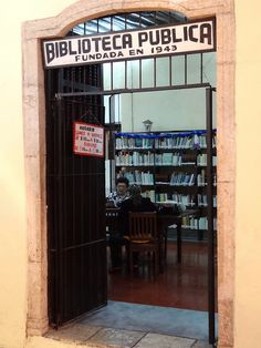 Public Library Founded in 1943 - Yucatan - Mexico