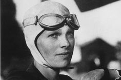 Amelia Earhart -- ladies, take note!