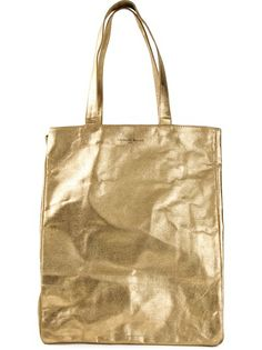 Shop now: Laurence Dolige liquid gold tote