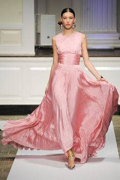 pink dress | Oscar de la Renta Gown