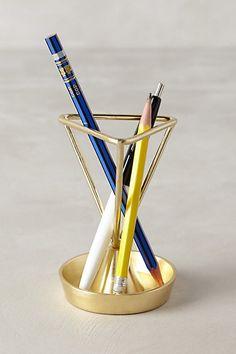 Angled Heirloom Pencil Holder