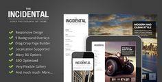 photographi theme, wordpress theme, wordpress photographi, wp theme, page design, photography, class photographi, incident, website designs