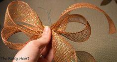 Simple mesh bows