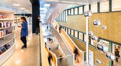 Gothenburg City Library | Link Arkitektur & Ersèus Arkitekter; Photo: Hundven-Clements Photography | Archinect