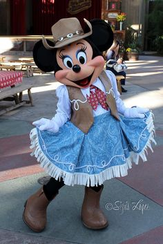 Cowgirl Minnie Mouse