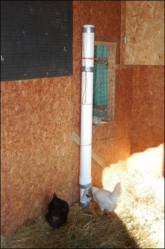 tall chicken feeder