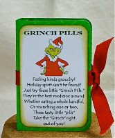 Enchanted Ladybug Creations:  Grinch Pills