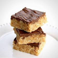 Use Rice Krispies, chocolate, peanut butter, and butterscotch to make these treats.
