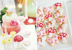 Enchanted Fairy Garden Butterfly Birthday Party via Kara's Party Ideas - www.KarasPartyIdeas.com #party #ideas #girl #fairy