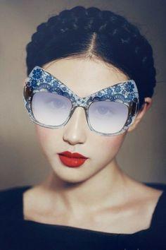 Anna Kaarlson Delft Inspired Eyewear