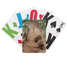 Photo Gifts - This can be purchased from my Zazzle store. http://www.zazzle.com/camel_playing_cards-256052234355711652?rf=238562255553280981