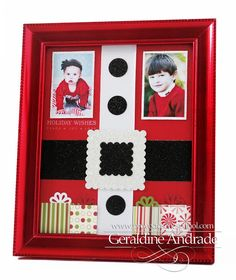 Stampin' Up! Christmas  by Geraldine Andrade at Mafer's Creations: SANTA