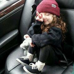 little fashionista-in-training