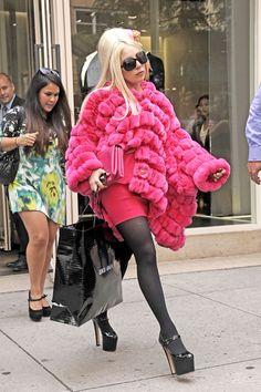 Lady Gaga Shops in NYC 2