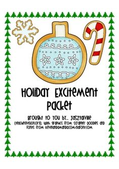 {freebie} A great resource full of Christmas activities!