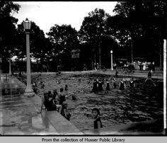 Weed Park pool- 1921
