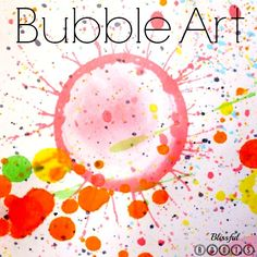 bliss root, art crafts, bubble paintings, bubbl art, craft ideas, bubbl paint