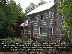 love this log house