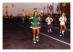 I was a majorette for the Hi Lites.  Marched in many a parade like this.