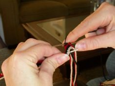 """Great tutorial knitting a Latvian Twist Cuff."" Nice cast-on edging. -CAB"