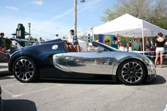 Bugatti Veyron. Number one on my dream cars list.