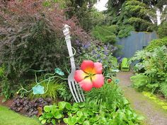 Love the fork. Now I want garden tools that look like dining implements.