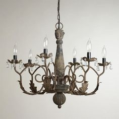 On the Kula Shopping Portal, www.Kula.com/shop, you can earn 4% on ALL CostPlus purchases to be donated to the charity of your choice! Search: Aged Black Crystal Chandelier