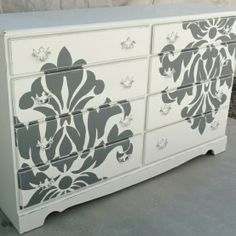 Painted furniture idea