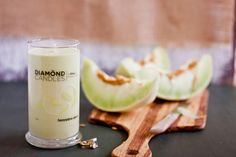 Honeydew Melon Candle - All Natural Soy Candles By Diamond Candles