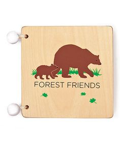 Take a look at this Forest Friends Book by Kid O on #zulily today!