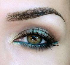 galleries, makeup geek, beach makeup brown eyes, turquois, beach eye makeup, idea galleri, fab makeup, hazel eyes, geeks