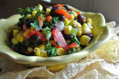 modern southern, southern cook, confetti salsa