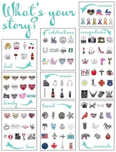 Origami Owl Charms - What's your story?