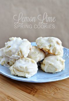 Delicious and easy to make Lemon Lime Spring Cookies  @Sophia Hopkins Provost  30daysblog