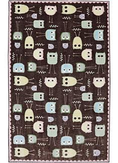 Baby Owls in the Crib 2 College collection from American Rug Craftsmen by Mohawk Home. #owl #madeinusa #americanmade #smartstrand