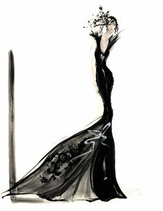 David Downton  #illustration