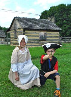 Colonial Camp.  June 2011
