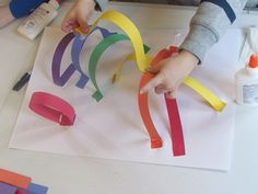 another 3D Rainbow Paper Craft