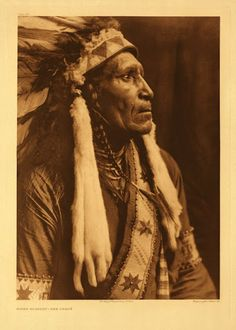 Raven Blanket - Nez Perce - 1910