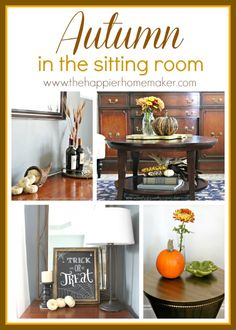 Autumn in the Sitting Room