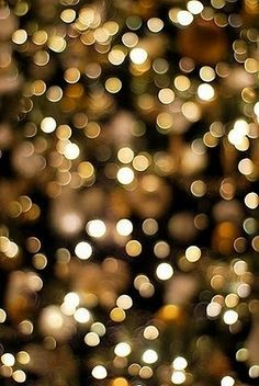Golden Glitter. I just love pictures like this....