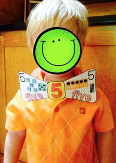 Numbers Bow Ties or Bows for numbers 1-20.  A fun, hands-on way to practice numbers.